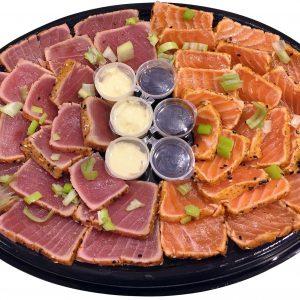zalm & tonijn Tataki schotel