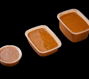 Foto bakje kerrie marinade